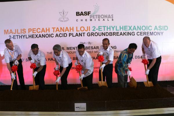 BASF Petronas Chemicals Groundbreaking Ceremony
