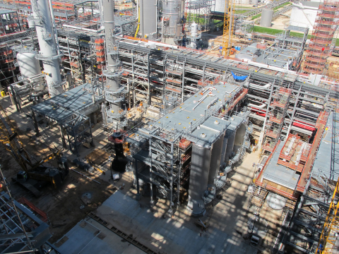 Dow Chemical PDH plant