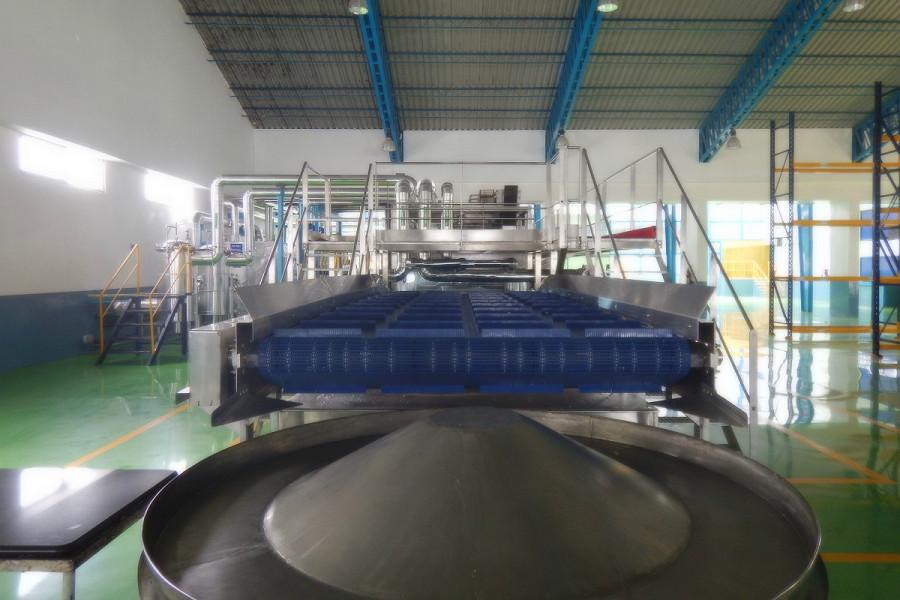 Bostik hot melt pressure sensitive adhesives production facility