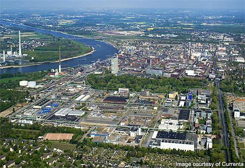 The Chempark Leverkusen site.