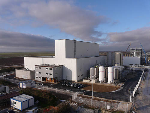 ARD's bio-based succinic acid plant is located in Pomacle, France.