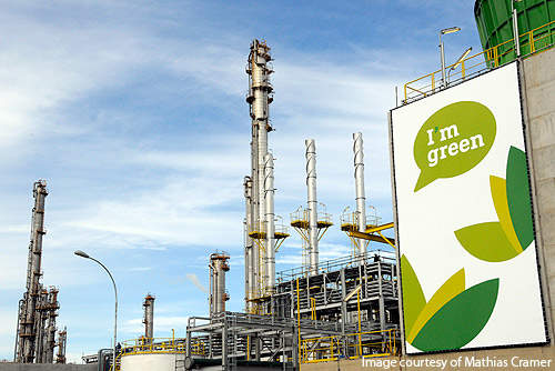 Braskem's Triunfo plant is the first of its kind to use sugarcane for ethylene production on an industrial scale.