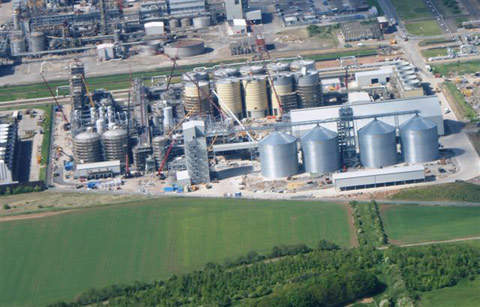 Ensus is building the UK's first ever bioethanol plant in Teesside.