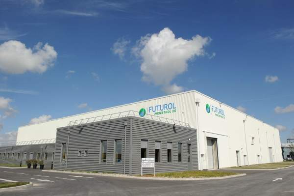 The Futurol bioethanol pilot plant is located in the ARD industrial Pomacle-Bazancourt biorefinery site near Remis in Marne county, north-eastern France. Image courtesy of Groupe THOMAS MARKO & ASSOCIS.