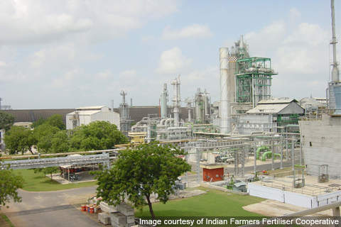 Indian Farmers Fertiliser Co-operative's (IFFCO) is the biggest fertiliser cooperative in the world, operating five plants across India. IFFCO owns an ammonia-urea complex in Kalol in the state of Gujarat, India.