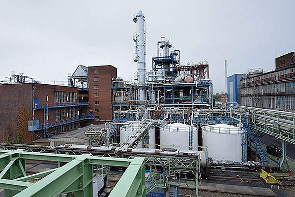 Lanxess commenced operations of the newly expanded Cresol production plant at Leverkusen, Germany, in November 2013.