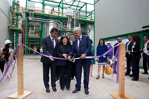 Matrìca commissioned its first green chemicals plant at Porto Torres in June 2014.