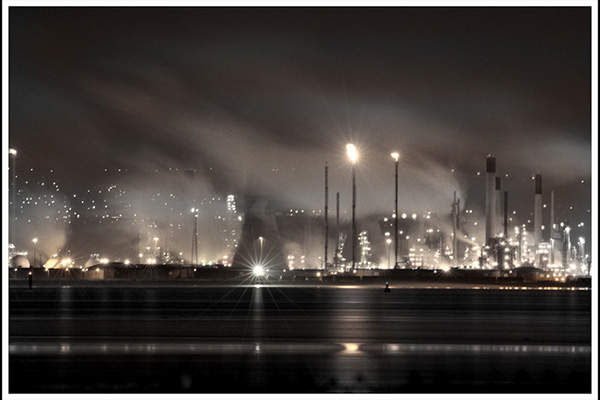 Ineos' Grangemouth petrochemical and refinery complex is its biggest manufacturing site worldwide. Image courtesy of Bryan Burke.
