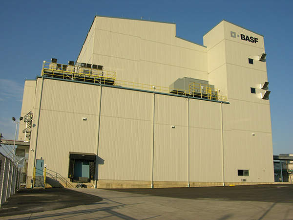 BASF's cathode material production plant covers an area of 70,000 square feet. Image courtesy of BASF.