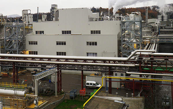 Reverdia is the first company in the world to establish a large-scale bio-based succinic acid production facility. Image courtesy of Reverdia.