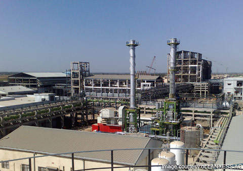LANXESS India started up a new rubber chemicals facility in Jhagadia on 3 March 2010.