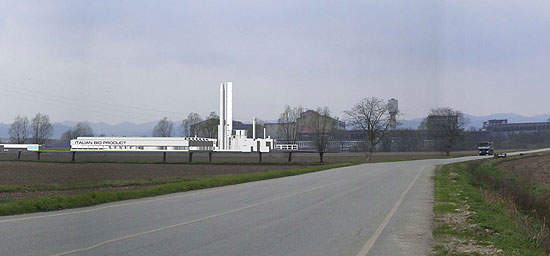 The Creswell (Vercelli) biorefinery is the first of its kind in the world.