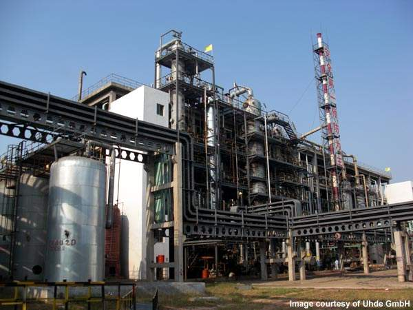 Yantai Juli Isocyanate awarded contract to Uhde to build a new hydrochloric acid electrolysis plant in Laiyang, China.