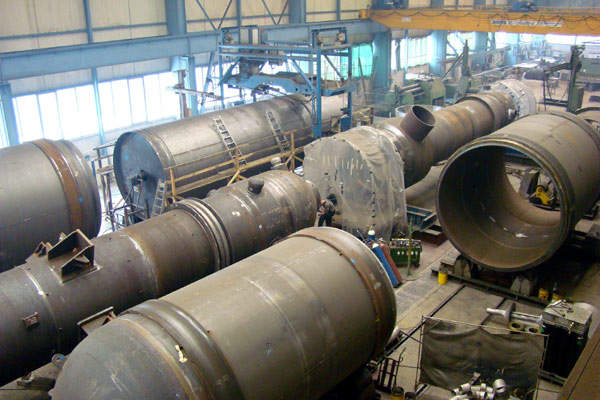 SBN are specialists in the manufacture of high-pressure vessels.