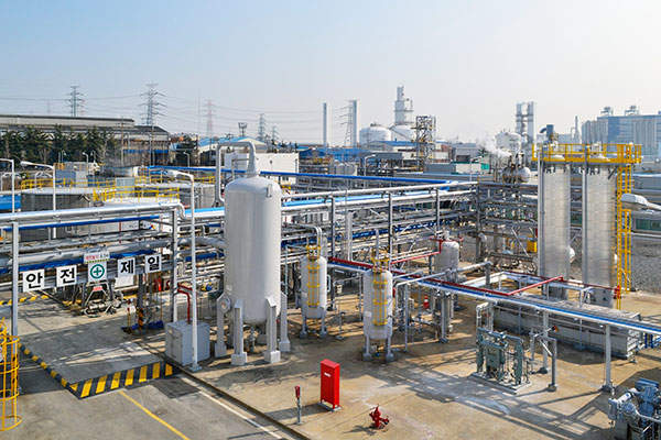 Wacker Chemie's production facility in Ulsan has an installed capacity of 90,000t of VAE dispersion per annum. Image courtesy of Wacker Chemie AG.