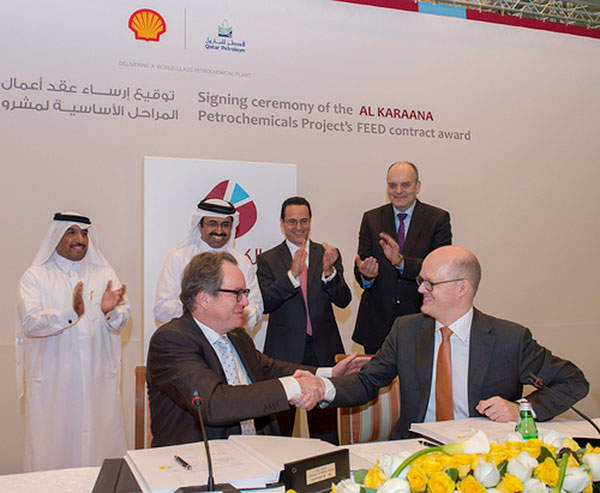 The FEED contract for the Al-Karaana petrochemical complex was awarded to Flour in February 2013.