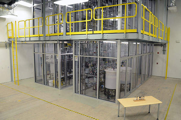 Renmatix's BioFlex Conversion Unit (BCU) is located at the company's King of Prussia headquarters in Pennsylvania. Image courtesy of Renmatix.