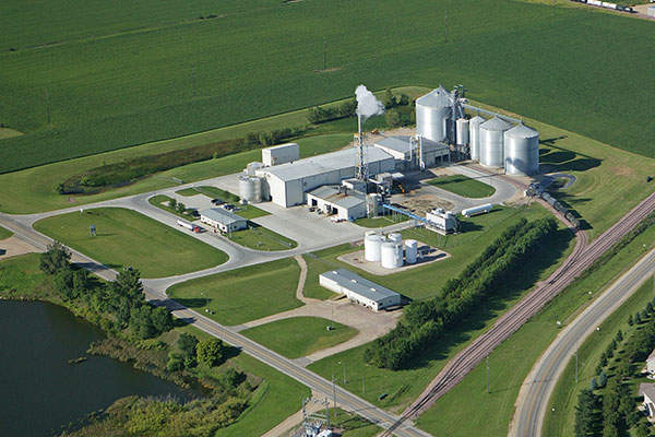 Gevo's isobutanol production facility is located in Luverne, Minnesota, US.