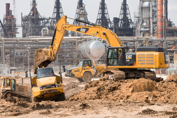 Construction works for the expansion of ExxonMobil's Baytown complex started in June 2014. Photo: Business Wire.