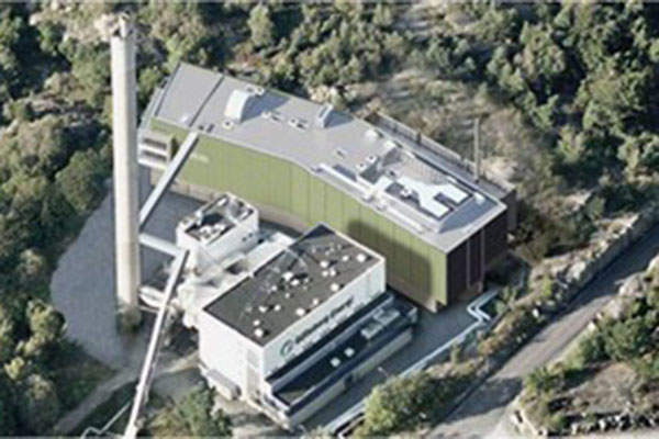 The GoBiGas demonstration plant became fully-operational in December 2014. Image courtesy of Bruks.