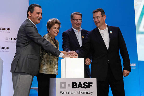 BASF commissioned its new acrylic acid complex in June 2015.