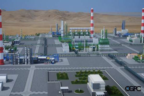 Artist's impression of SOCAR's new oil-gas processing and petrochemical complex (OGPC) in Baku, Azerbaijan. Image courtesy of SOCAR Forum.