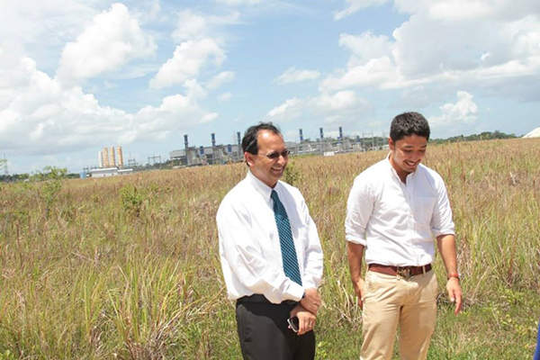 Trinidad's Natural Gas to Petrochemicals Complex is being constructed at the Union Industrial Estate in La Brea. Image courtesy of National Energy.