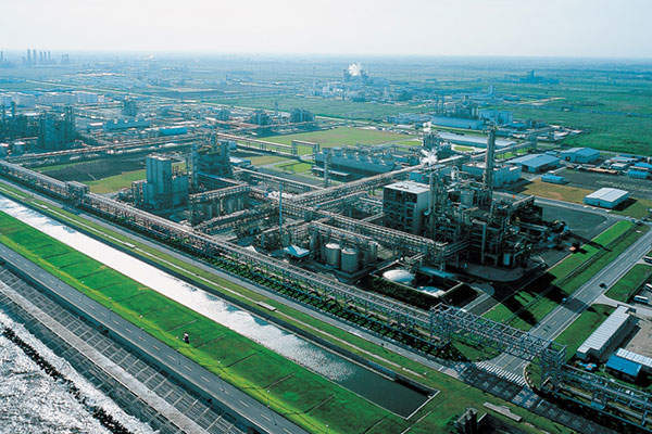 Invista's new hexamethylene diamine plant is located at the Shanghai Chemical Industry Park. Image courtesy of Information Office of Shanghai Municipality.