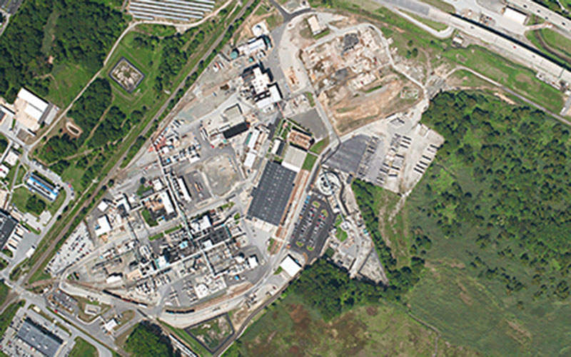 A non-iconic surfactant production plant is being constructed by Croda International at its Atlas Point facility. Image courtesy of Walbridge.