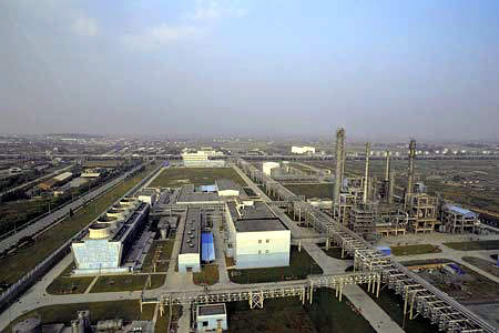 Ground breaking at the BASF-YPC integrated petrochemical complex took place in September 2001. Mechanical completion was achieved at the end of 2004 with commercial operations beginning in June 2005.