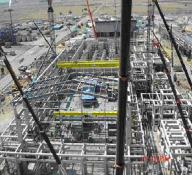 The 220 000tpa low-density polyethylene plant  was completed during the third quarter of 2005.