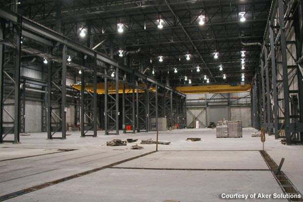 The new fabrication facility undertakes an extensive scope of work.