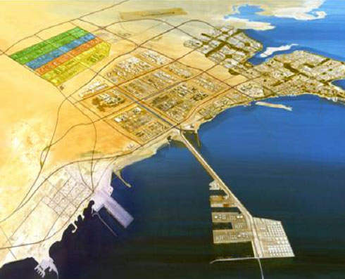 The Al-Jubail Industrial City in Saudi Arabia is the location for the integrated polyethylene complex being developed by Basell, Tasnee Petrochemical and others. Al-Jubail Industrial City is a hub for Saudi Arabia's thriving petrochemical industry.