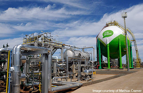 The Braskem ethanol-to-ethylene plant project is estimated to have cost R$500m.