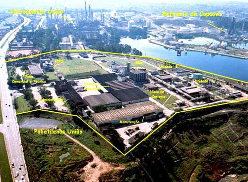 The city of Capuava is highly industrialised, making it suitable for petrochemical plants such as the one owned by PQU.