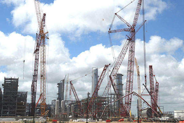 A new propylene plant is also being constructed, which is set for commissioning in 2015. Photo: Business Wire.