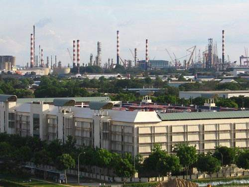 Jurong Island already has more than 80 companies involved in petrochemicals.