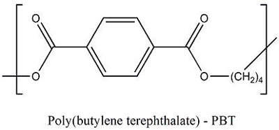 The chemical structure of PBT gives it a number of versatile properties.