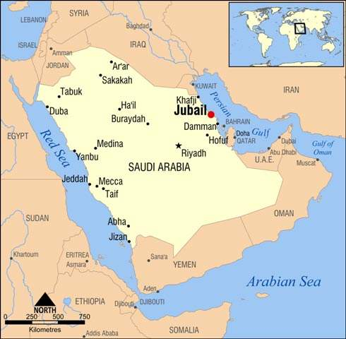 Al Jubail Industrial city is a major industrial centre; the new plant on the Tasnee Petrochemicals site is the first Acetex plant in the Middle East.