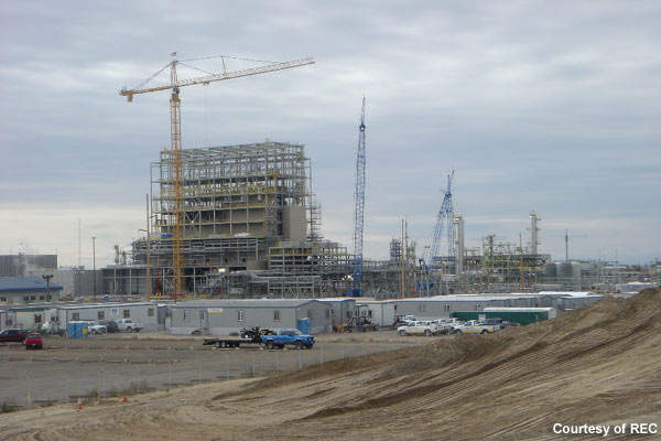 Construction of the Silicon III plant began after REC announced its investment in May 2006.