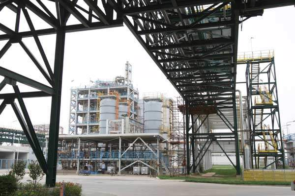 The facility consists of a pyrogenic silica plant and a siloxane plant.