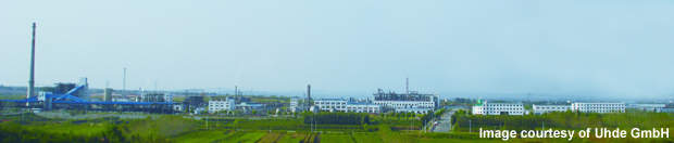 The Yantai Juli plant site in Laiyang Economic Development Zone has good infrastructure and transportation facilities.