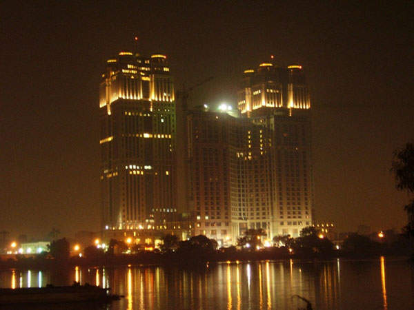 The OCI Fertilizer Group is headquartered at the Nile City Towers in Egypt.