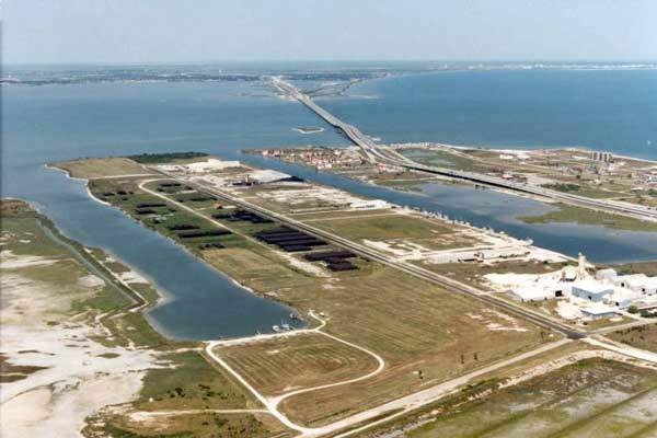 Port of Corpus Christi was chosen as the location for the plant due to the accessibility to three railroads, navigable water and availability of utilities and raw material suppliers. Image courtesy of The Port of Corpus Christi.