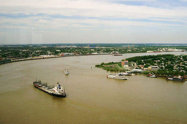 The ammonia plant is located on the west bank of the Mississippi River in Waggaman. Image courtesy of PRA.