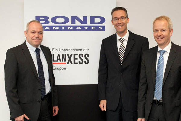 Lanxess acquired Bond-Laminates in September 2012 to strengthen its innovative product portfolio of lightweight materials for the automotive industry.