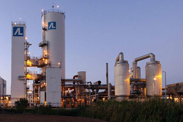 Air Liquide will supply 2,400t a day of oxygen for the new methanol plant in Louisiana. Image courtesy of Air Liquide.