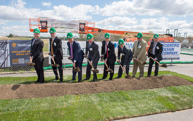 The ground-breaking ceremony for the £120m ($170m) plant was held in April 2015. Image courtesy of Businesswire.