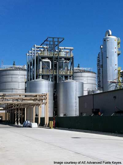 The Cilion ethanol plant was built with an investment of $130m.