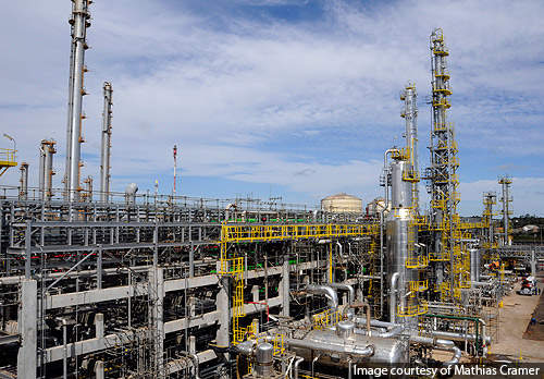 The ethylene production plant will use 462 million litres of ethanol a year.